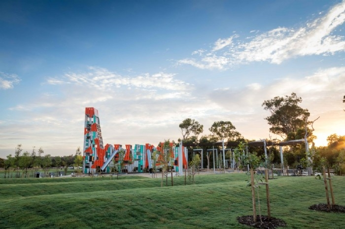 Bungarribee Park's ultra modern playground - now open