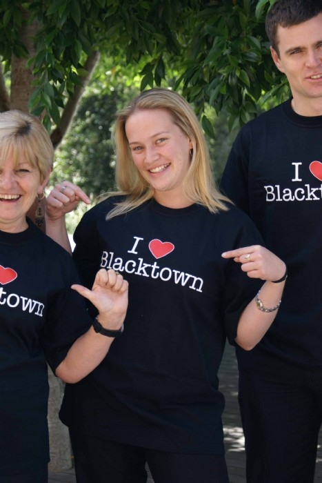 I Love Blacktown T Shirts on sale from Blacktown Visitor Information & Heritage Centre