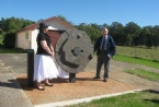 Unveiling of Millstone from William Lawsons farm