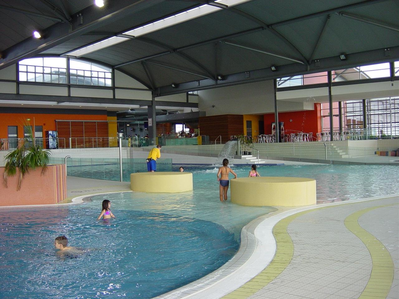 Children's splash pool at Blacktown Leisure Centre, Stanhope