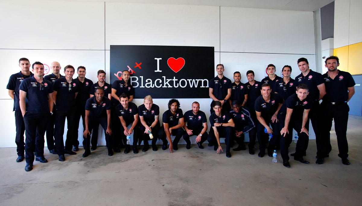 Western Sydney Wanderers home base at Blacktown International Sportspark