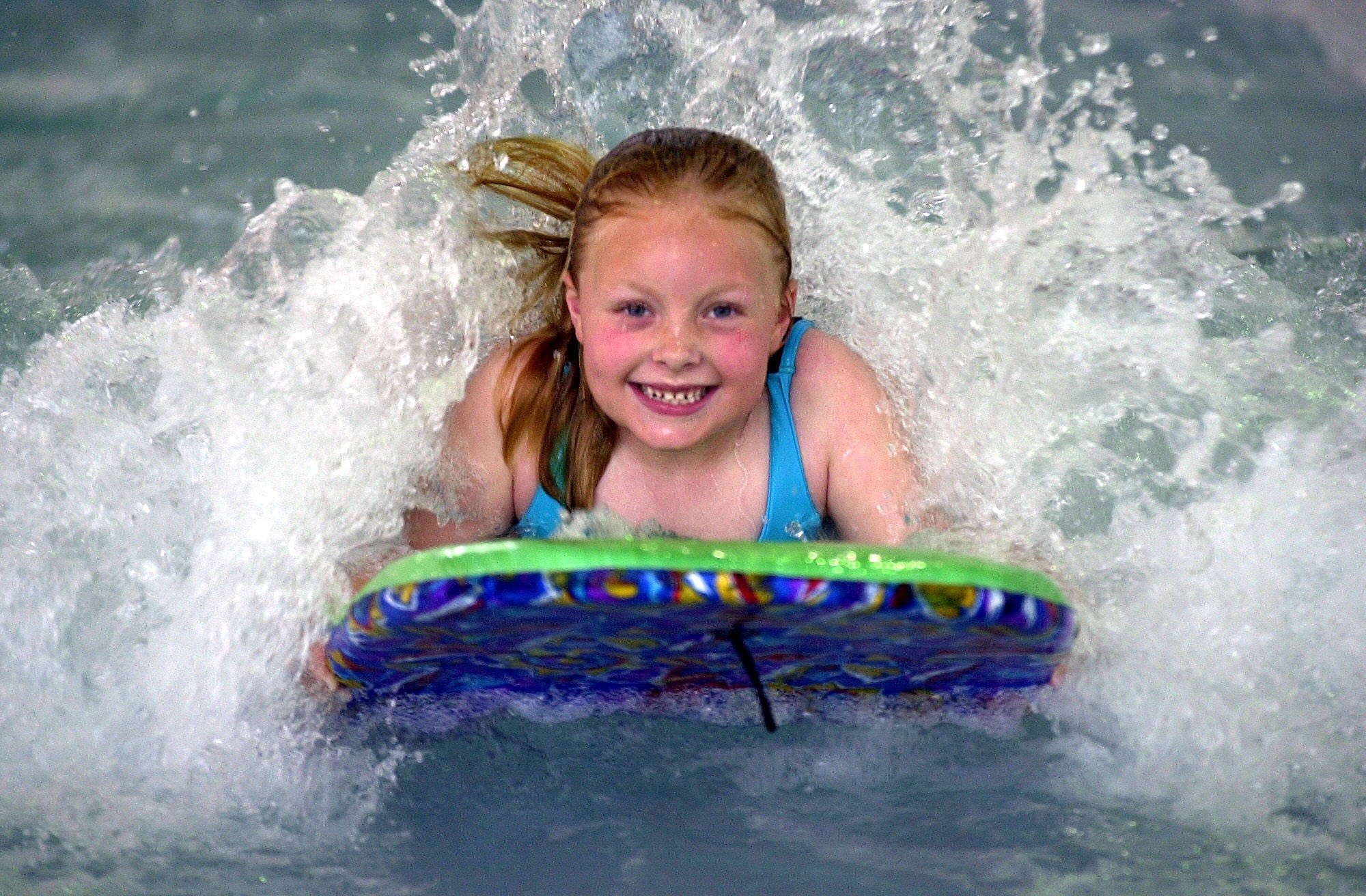 Wave pool at Blacktown Leisure Centre, Stanhope
