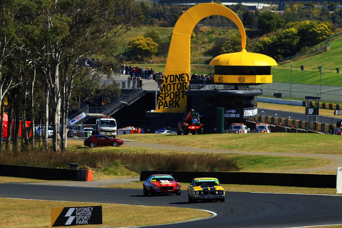 Sydney Motorsport Park Muscle Car Events